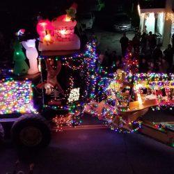 Ramazzotti float in light parade
