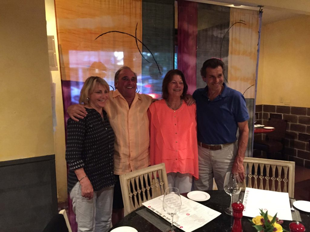 Joe and Norma Ramazzotti and Mel and Patty Ratto
