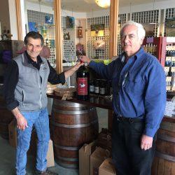 Wine Road tasting room guests